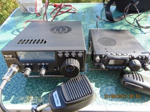 Front view of Argonaut & FT817