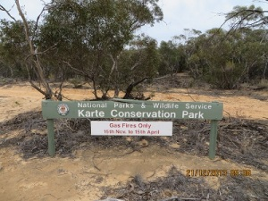 Karte Conservation Park