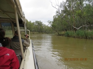 The Murray at its narrow point