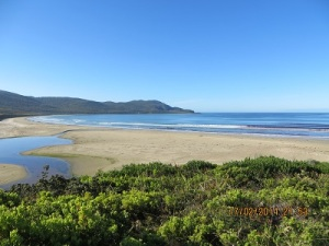 Cloudy Bay Beach - South Bruny National Park
