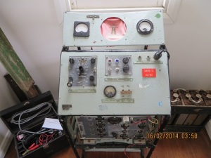 HF transceiver from Swan Island
