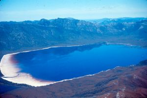Lake Pedder approach: VK5BJE archives