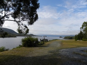 Lake Pedder from the Lake Pedder Chalet