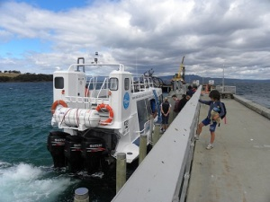 Maria Island Ferry at Darlington Jetty JCD photo
