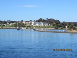 A view of Narooma near board-walk