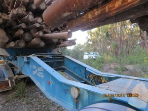 Another view of the log-truck