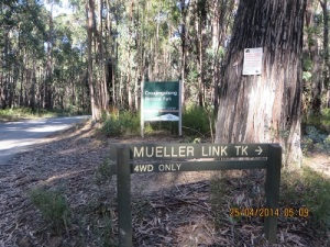 Croajingolong NP, Meuller Track to 'shack'