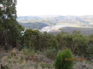 Lake Eildon National Park from Lookout