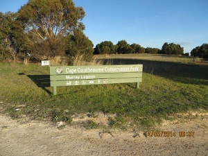Cape Gantheaume Conservation Park - Murray Lagoon