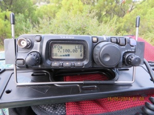 Greg's signal (VK5ZGY) at Pelican Point Conservation Park