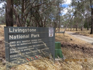 Livingstone National Park Northern entrance