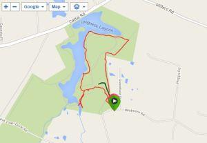 Walk at Longneck Lagoon