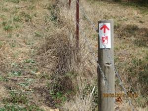 Heysen Trail marker