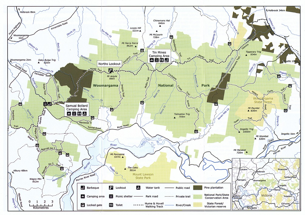 Woomargama National Park vk5bje