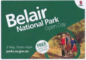 Belair National Park Open Day invitation