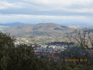 Black Mountain from Mount Ainslie