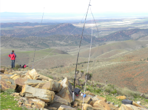 Summit Mt Arden VK5PAS/P & VK5BJE/P