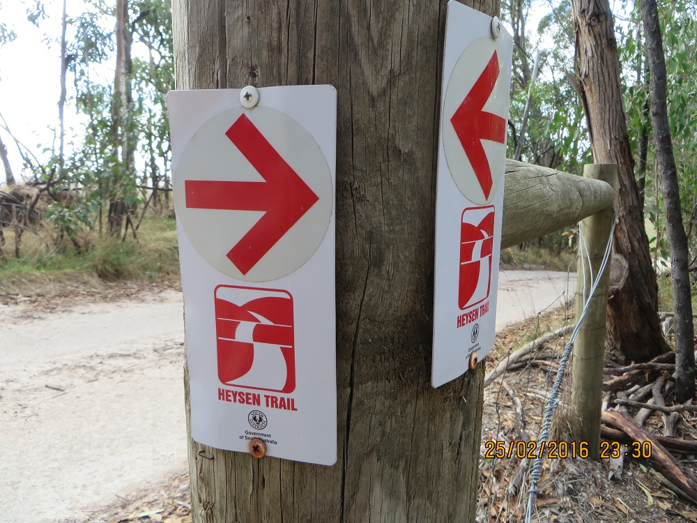 Entry into the Park Heysen Trail