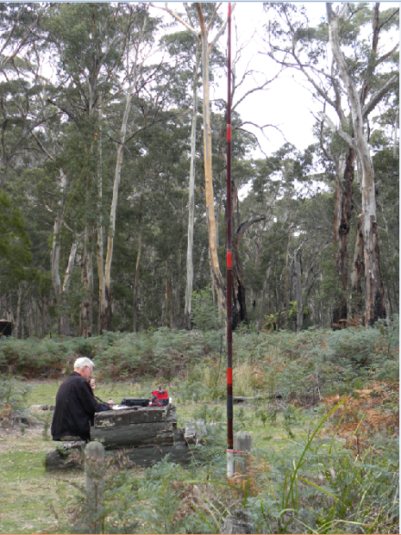 Radio at Mount Buangor State Park
