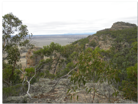 view from Mount Arapiles