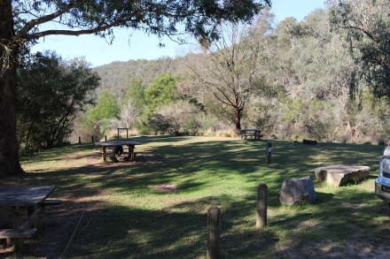 Picnic area rivers junction