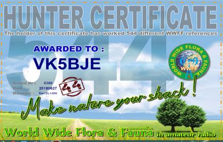 544 WWFF