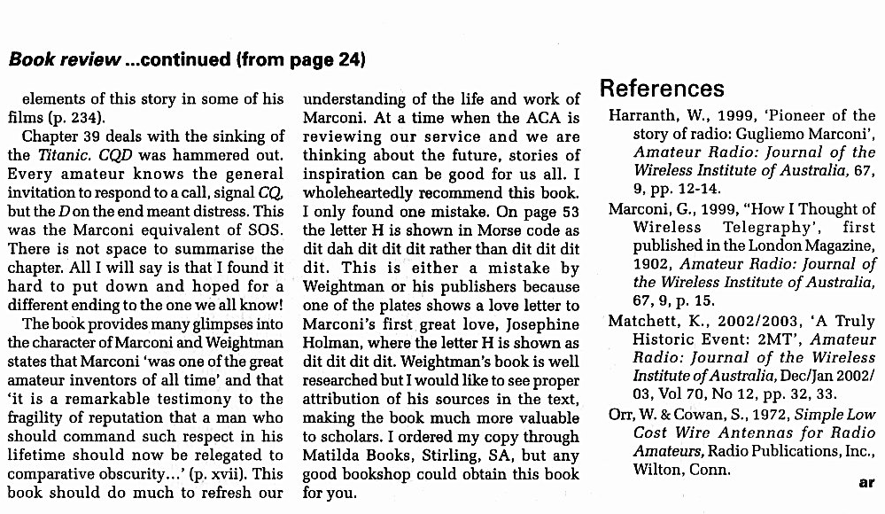 book review MJD second page