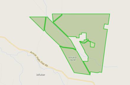 Jallukar map