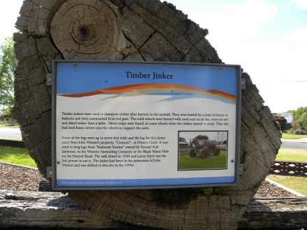 Timber Jinker facts